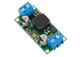 Pololu adjustable step-up/step-down voltage regulator S18V20ALV, assembed with included terminal blocks