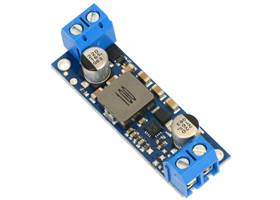 Pololu fixed step-up voltage regulator U3V50Fx, assembed with included terminal blocks