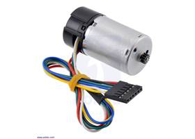 25Dmm motor with 48CPR encoder (no gearbox).