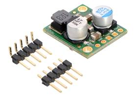 Pololu 5A Step-Down Voltage Regulator D24V50Fx with included hardware