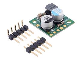 Pololu Step-Down Voltage Regulator D24V22Fx with included hardware