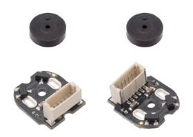 Magnetic Encoder Pair Kit with Top-Entry Connector for Micro Metal Gearmotors, 12 CPR, 2.7-18V.