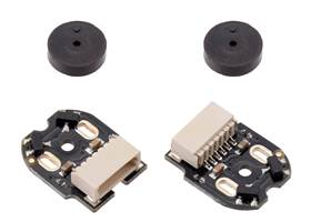 Magnetic Encoder Pair Kit with Side-Entry Connector for Micro Metal Gearmotors, 12 CPR, 2.7-18V.