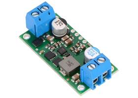 Pololu 5V, 9A Step-Down Voltage Regulator D24V90F5, assembed with included terminal blocks
