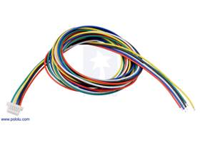 6-Pin Female JST SH-Style Cable 75cm.