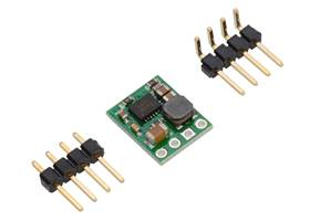 Pololu step-down voltage regulator D24V5Fx with included hardware