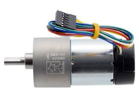 131:1 Metal Gearmotor 37Dx73L mm with 64 CPR Encoder (Helical Pinion). (1)