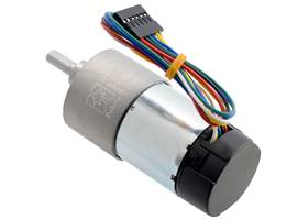 131:1 Metal Gearmotor 37Dx73L mm with 64 CPR Encoder (Helical Pinion). (2) (2)