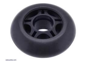 Scooter/skate wheel 70x25mm – black