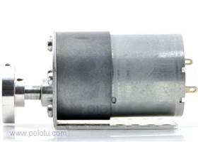 37D gearmotor with bracket and hub (3)