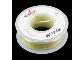 Hook-up Wire - Yellow (22 AWG)