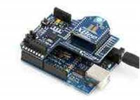 XBee Shield with module and USB board (1)