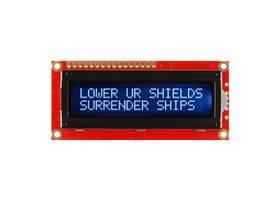 Basic 16x2 Character LCD - White on Black 3.3V