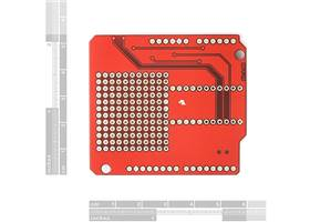 Arduino Xbee Shield - Dimensions