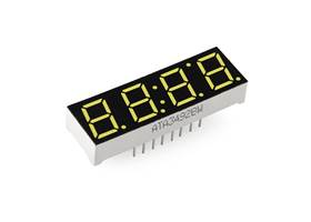7-Segment Display - 4-Digit (White) (2)