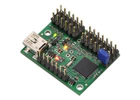 Mini Maestro 12-channel USB servo controller (assembled version)