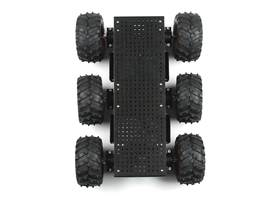 Wild Thumper 6WD Chassis - Black (34:1 gear ratio) (2)