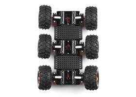 Wild Thumper 6WD Chassis - Black (34:1 gear ratio) (3)