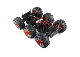Wild Thumper 6WD Chassis - Black (34:1 gear ratio) (6)
