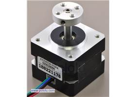 5mm mounting hub on a stepper motor