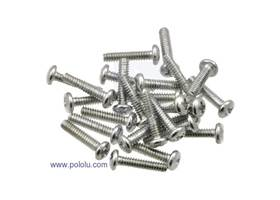 "Machine Screw #4-40, 1/2"" inch Length, Phillips (25-pack)"