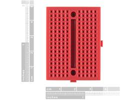 Breadboard - Mini Modular (Red) (2)