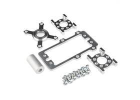 ServoBlock Kit - Hitec 1/4-Scale (Plain Shaft)
