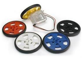 Solarbotics SW wheel with silicone tire