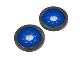 "Precision Disc Wheel - 2"" (Blue, 2 Pack)"