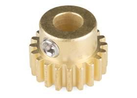"""Gear - Pinion Gear (20T; 0.25"""" Bore)"""