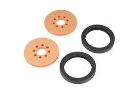 "Precision Disc Wheel - 2"" (Orange, 2 Pack)"